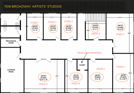 Art Studio Design Layout Space Adult Artists