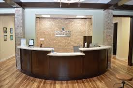 custom office desk. Inc Custom Office Desk Receptionist White Quartz Corporate Reception New Gold Ikea Napoli S