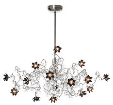 jewel diamond 15 light chandelier in clear and black glass harco loor