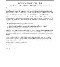 Cover Letter Examples For Registered Nurses Cover Letter Stirring