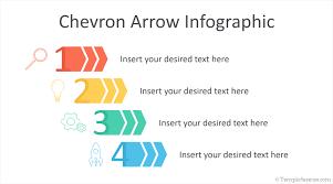 Chevron Arrow Infographic For Powerpoint Templateswise Com