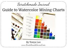Watercolor Mixing Chart Download Guide To Watercolor Mixing Charts Plus Free Color Chart
