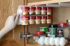 Delightful Install A Pull Out Spice Rack To The Underside Of A Cabinet.