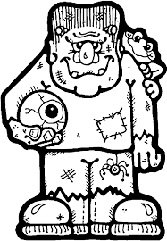 Kids Printable Halloween Coloring Pictures