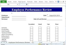 Performance Appraisal Template Excel Property Investment Sample ...
