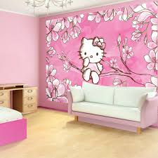 pink wallpaper bedroom ideas with hello kitty bedroom design ideas and  girls