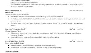 Responsibilities Of A Neonatal Nurse Nurse Resume Resume Download By