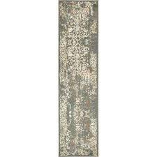 tuareg mirage gray 2 6 x 10 0 runner rug