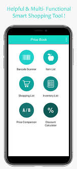 Shopping List Price Calculator Price Book Track Grocery Price En App Store