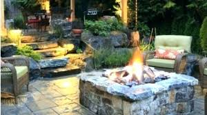 wood burning stone fire pit target stones outdoor rock designs woo ideas flag outdoor rock fire