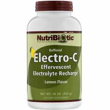 NutriBiotic Buffered <b>Electro</b>-<b>c Lemon</b> Flavor 16 Oz 454 G for sale ...