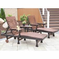 Berlin Gardens Casual Back Chaise Lounge Set