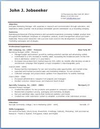 Free Resume Templates For Word 2003 Resume And Cover Letter