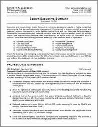 Best Resume Format For Executives - Gcenmedia.com - Gcenmedia.com
