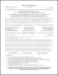 Sample General Manager Resume Sample Key Account Manager Resume Sales Resumes General Page 1
