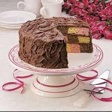 Best Design Cake And Recipe Checkerboard Ice Cream Cake Recipe