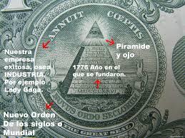 Resultado de imagen para dolar illuminati 1776