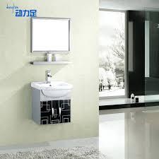 wall mount cabinet bathroom dynamic foot wall mounted cabinet stainless steel bathroom cabinet bathroom cabinet vanity wash basin minimalist wall mount