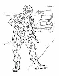 British Soldier Coloring Pages At Getdrawingscom Free For