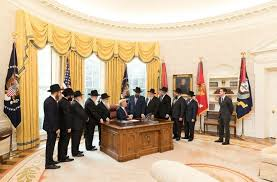 oval office pics. Trump Meets With Chabad Rabbis In Oval Office Pics S