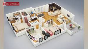 3 Bedroom Home Design Plans New Decorating Ideas