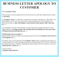 Customer Service Apology Email Customer Service Apology Letter Sample Template Synonym