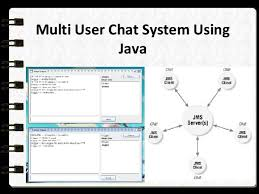 multi user chat system using java