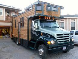 Tiny Truck 1999 Sterling Diesel Custom House Truck Tiny House For Us