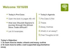 today we are going to learn how to write an expository essay  welcome 10 16 09  today s pre class  open the book to