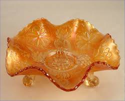 Carnival Glass Patterns Beauteous Some Beautiful Carnival Glass Pieces Peachridge Glass