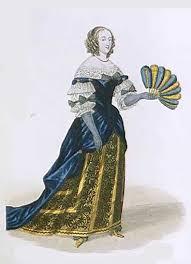 Мода века в Европе  мода 17 века в европе 3