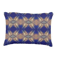 royal blue decorative pillows. Exellent Decorative Royal Blue Cream Artistic Tribal Pattern Decorative Pillow To Pillows N