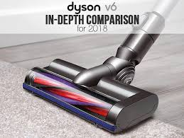 The Dyson V6 Comparison Chart And Models Guide