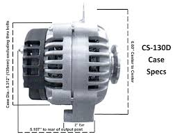 cs130d alternator wiring solidfonts gm cs130 alternator wiring diagram nilza net