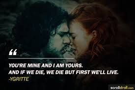Game Of Thrones Quotes About Love Extraordinary 48 Most Memorable Quotes From Game Of Thrones