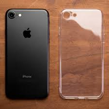 iphone 7 black and gold. ultra thin transparent gel case - apple iphone 7 (4.7in) iphone black and gold