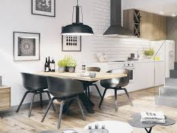 White Dining Room Furniture 30 Black White Dining Rooms That Work Their Monochrome Magic