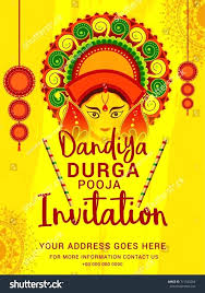 stock vector creative poster or flyer of celebration night invitation card pooja vastu puja template background