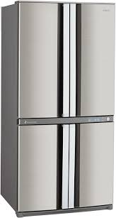 sharp fridge. 4-door-fridge-freezer-sharp-sjf79pssl.jpg sharp fridge