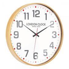 london clock large boho wall clock