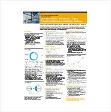 Company Fact Sheet Sample 24 Fact Sheet Templates Pdf Doc Free Premium Templates