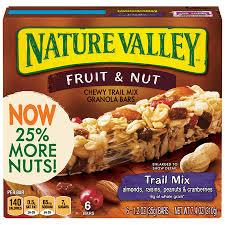 Fruit Bar Vending Machine Custom Nature Valley Chewy Granola Bar Trail Mix Fruit Nut 48 Bars 4848