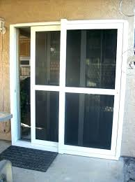 pet proof screen door guard claws off protector outside doors let large size of patio screen blinds sliding glass door fresh outside