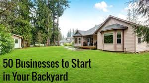 Virtual Backyard Design Cool 48 Small Businesses To Start In Your Backyard Small Business Trends