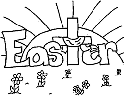 Simple Easter Coloring Pages At Getdrawingscom Free For Personal