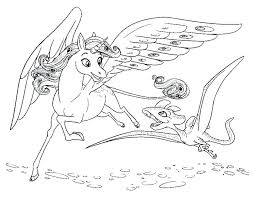 Mia And Me Coloring Pages And Me Coloring Pages Coloring For Kids