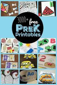 3000 free pre k worksheets