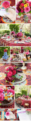 The team put a romantic spin on Old-World elements combined with a Moorish  influence. **LOVE the BRIGHT colors!