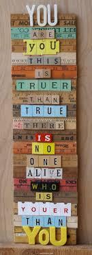Tu eres TU y eso es Mas Verdadero q la verdad, ya que No hay