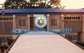 Buksu Accomplishment Report 2017 - Bukidnon State University